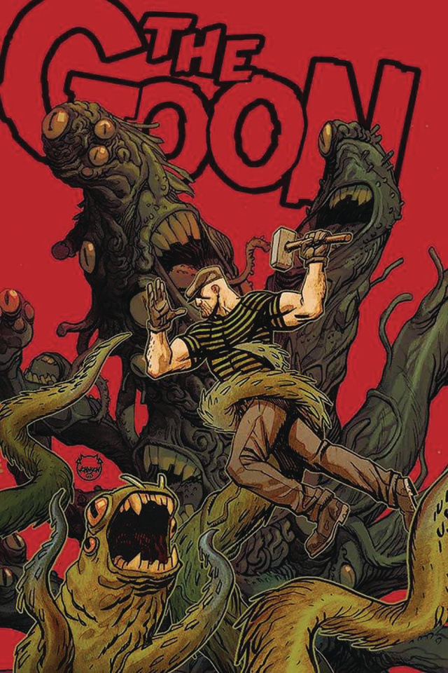 The Goon #12 (Johnson Cardstock Cover)