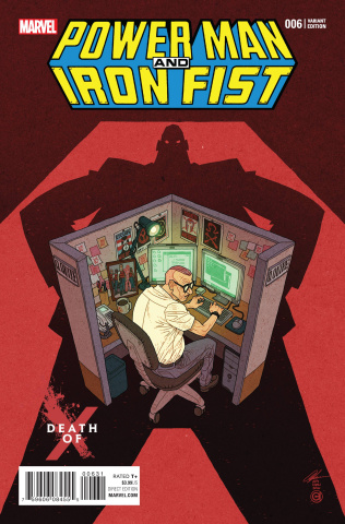 Power Man & Iron Fist #6 (Chan Death of X Cover)