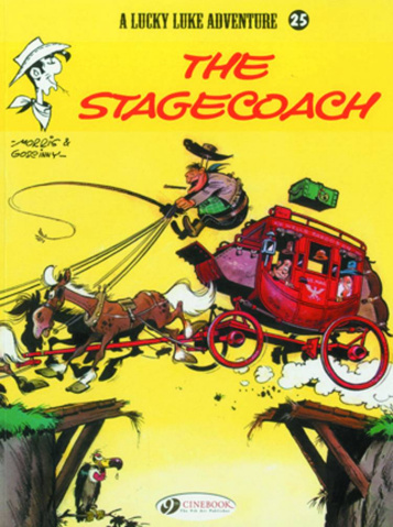 Lucky Luke Vol. 25: The Stagecoach