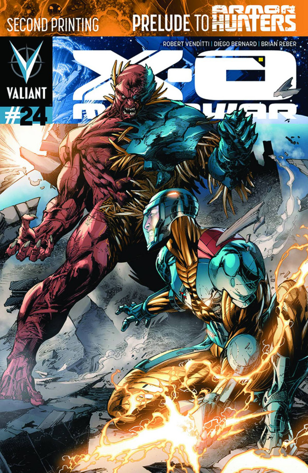 X-O Manowar #24 (2nd Printing)
