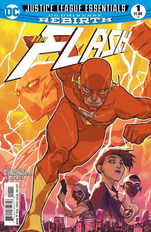 Justice League Essentials: The Flash #1 Rebirth