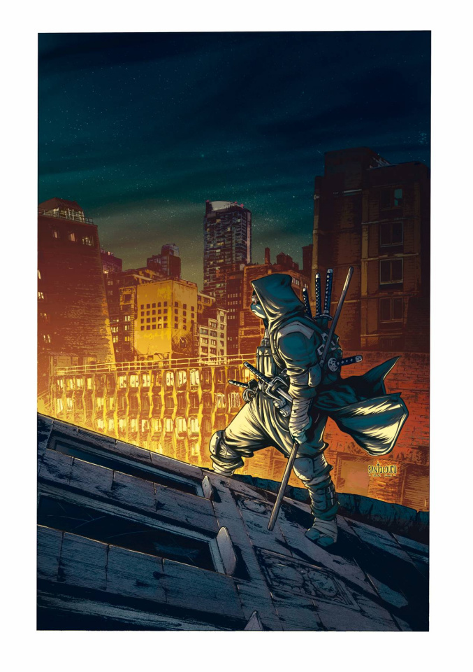 Teenage Mutant Ninja Turtles: The Last Ronin #1 (25 Copy Santolouco Cover)
