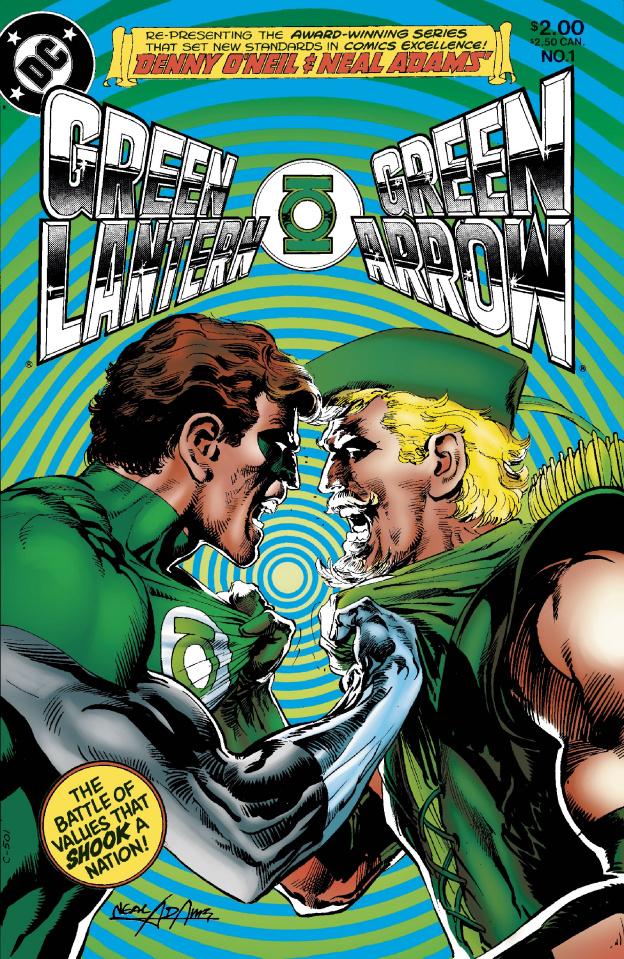 Green Lantern / Green Arrow: Hard Traveling Heroes