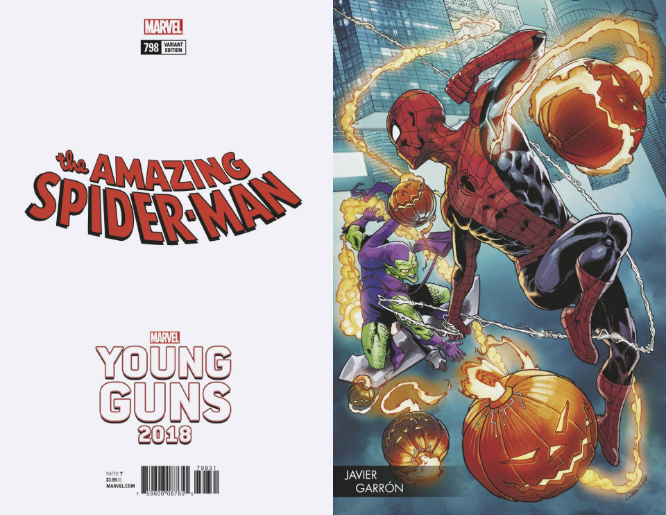 The Amazing Spider-Man #798 (Garron Young Guns Cover)