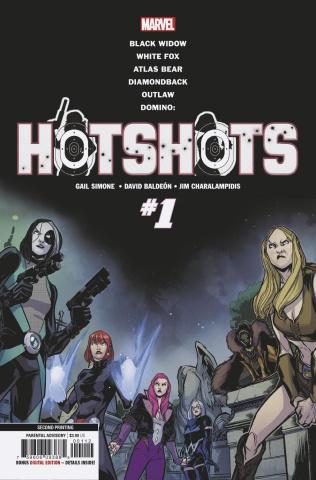 Domino: Hotshots #1 (Baldeon 2nd Printing)