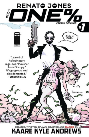 The One Percent #1 (4th Printing)