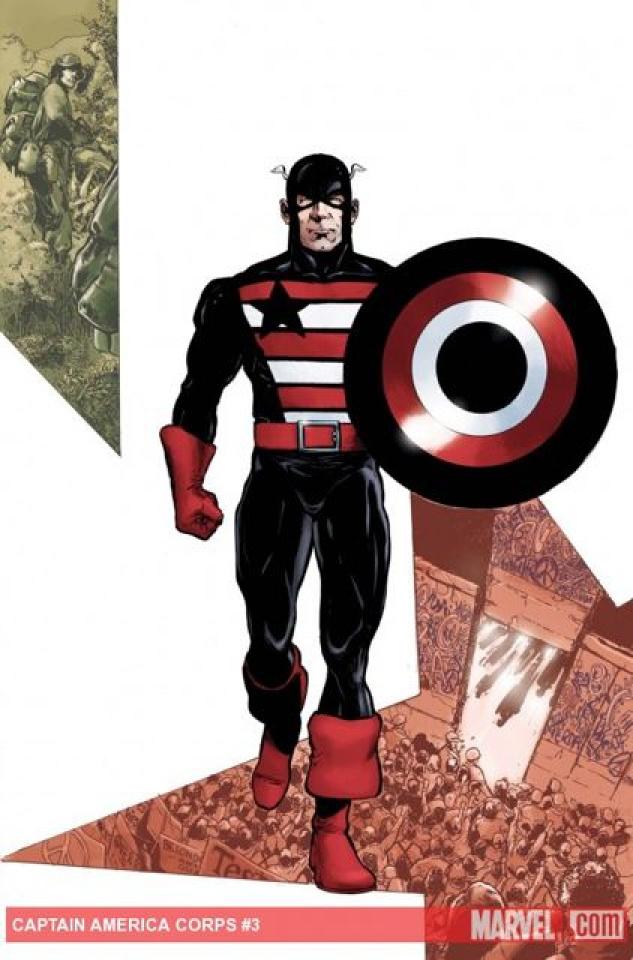 Captain America Corps #3