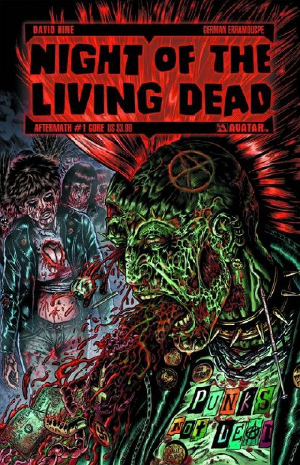 Night of the Living Dead: Aftermath #1 (Gore Cover)