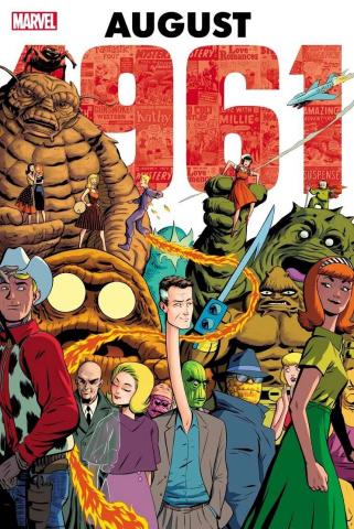 Marvel: August 1961 (Omnibus Rodriguez Cover)