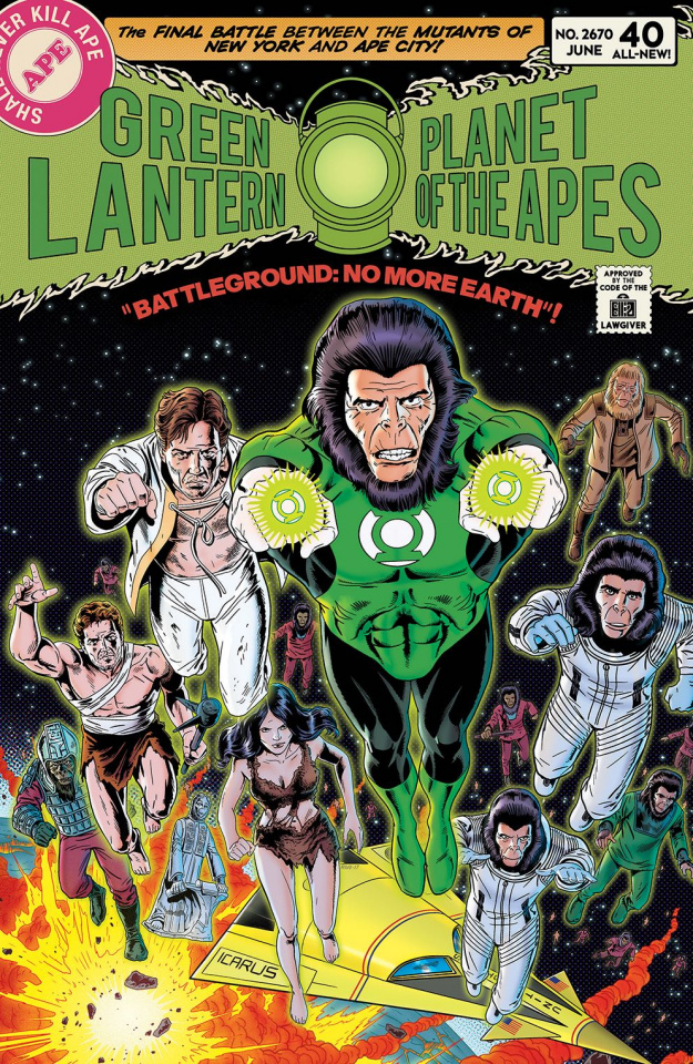 The Planet of the Apes / The Green Lantern #5 (20 Copy Rivoche Cover)