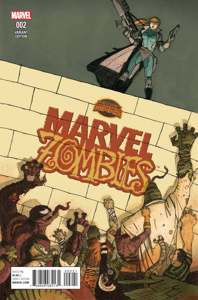 Marvel Zombies #2 (Walta Cover)