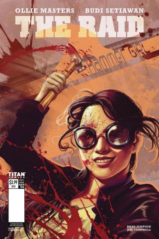 The Raid #2 (Ianniciello Cover)