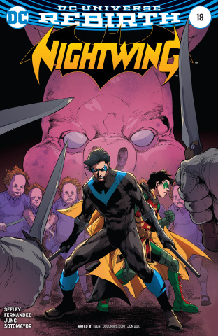 Nightwing #18 (Variant Cover)