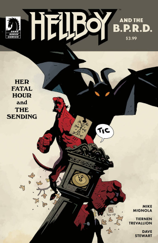 Hellboy and the B.P.R.D.: Her Fatal Hour and The Sending (Mignola Cover)