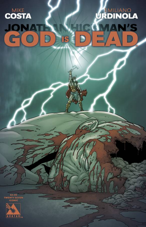 God Is Dead #27 (Iconic Cover)