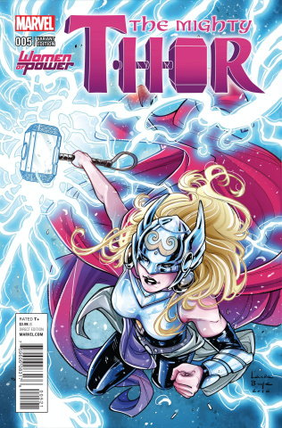 The Mighty Thor #5 (Braga Cover)