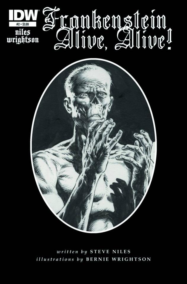 Frankenstein: Alive, Alive! #2