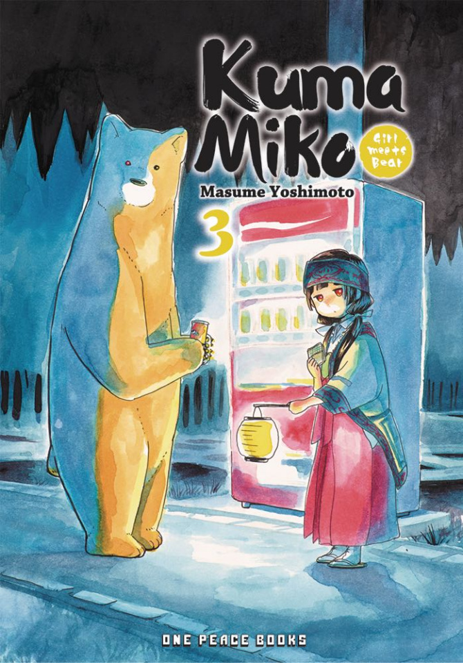 Kuma Miko Vol. 3