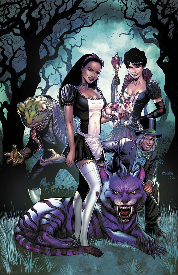 Grimm Fairy Tales: Wonderland - The Birth of Madness (Chen Cover)