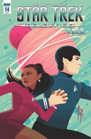 Star Trek: Boldly Go #14 (25 Copy Cover)
