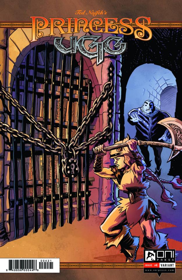 Princess Ugg #4 (CBLDF Banned Book Variant)
