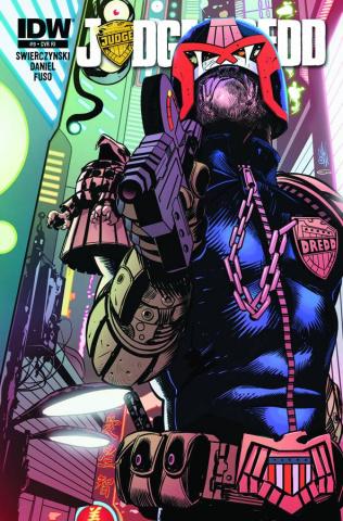 Judge Dredd #9 (10 Copy Cover)