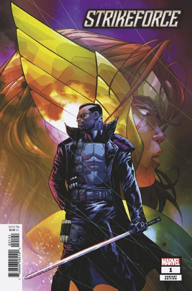 Strikeforce #1 (Benjamin Cover)