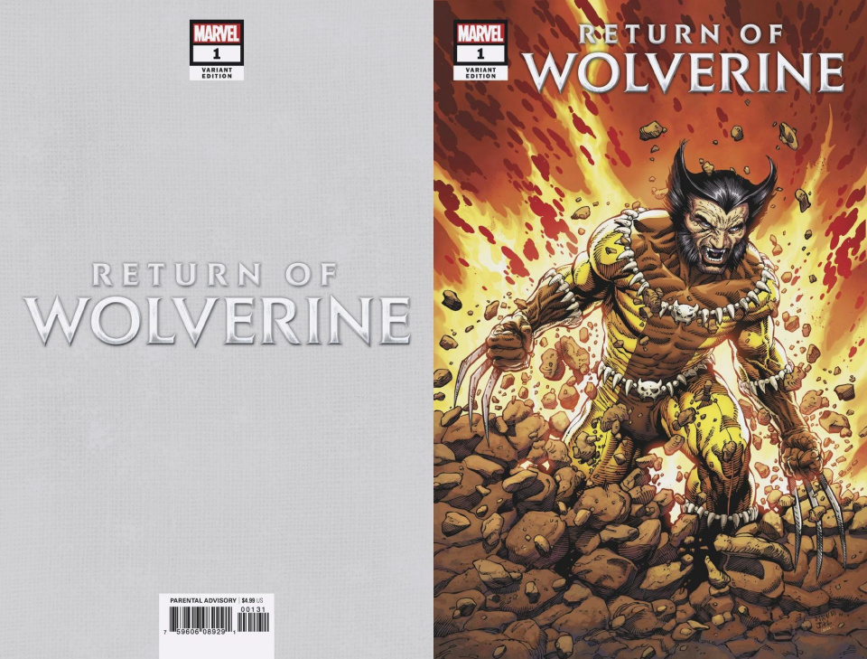 Return of Wolverine #1 (McNiven Fang Costume Cover)