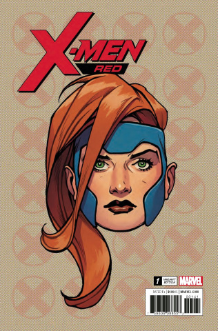 X-Men: Red #1 (Charest Legacy Headshot Cover)