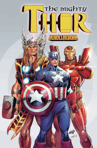 The Mighty Thor #703 (Liefeld Avengers Cover)