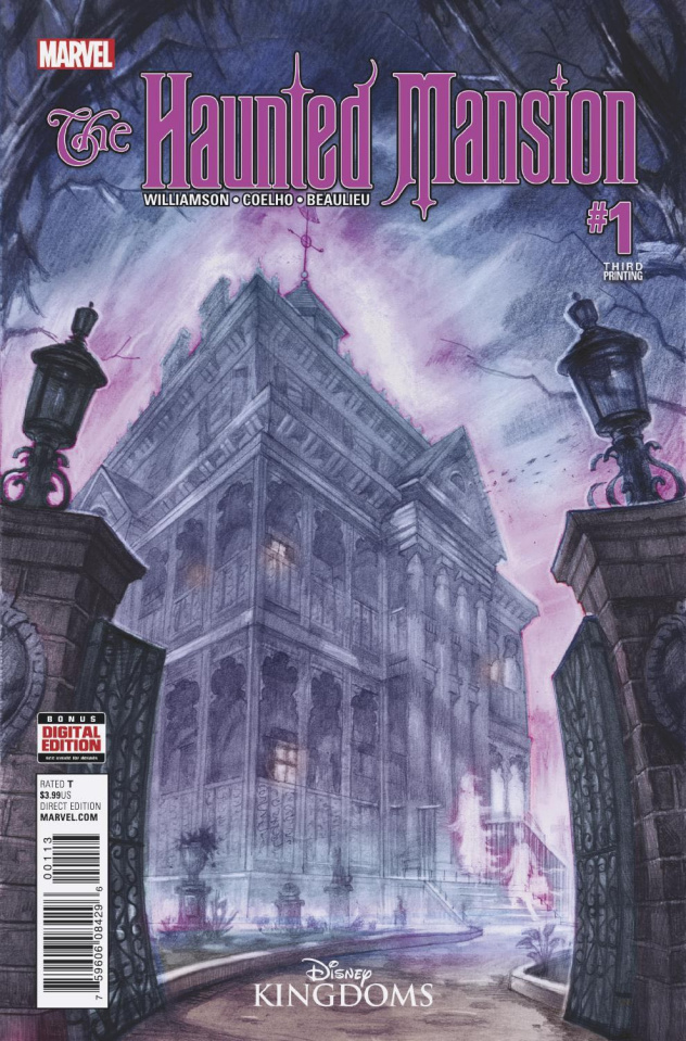 The Haunted Mansion #1 (3rd Printing)