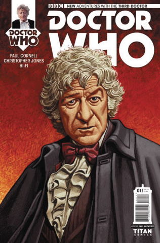 Doctor Who: New Adventures with the Third Doctor #1 (McCaffrey Cover)