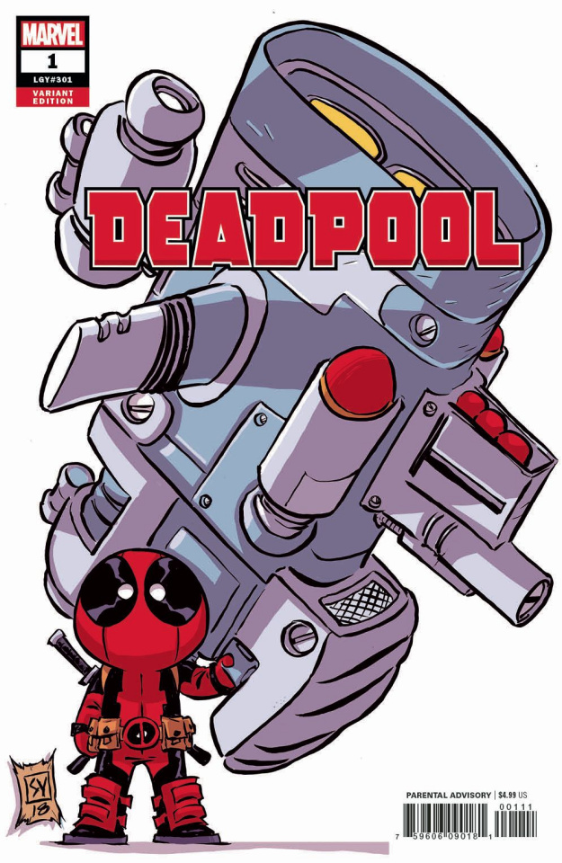 Deadpool #1 (Young Cover)