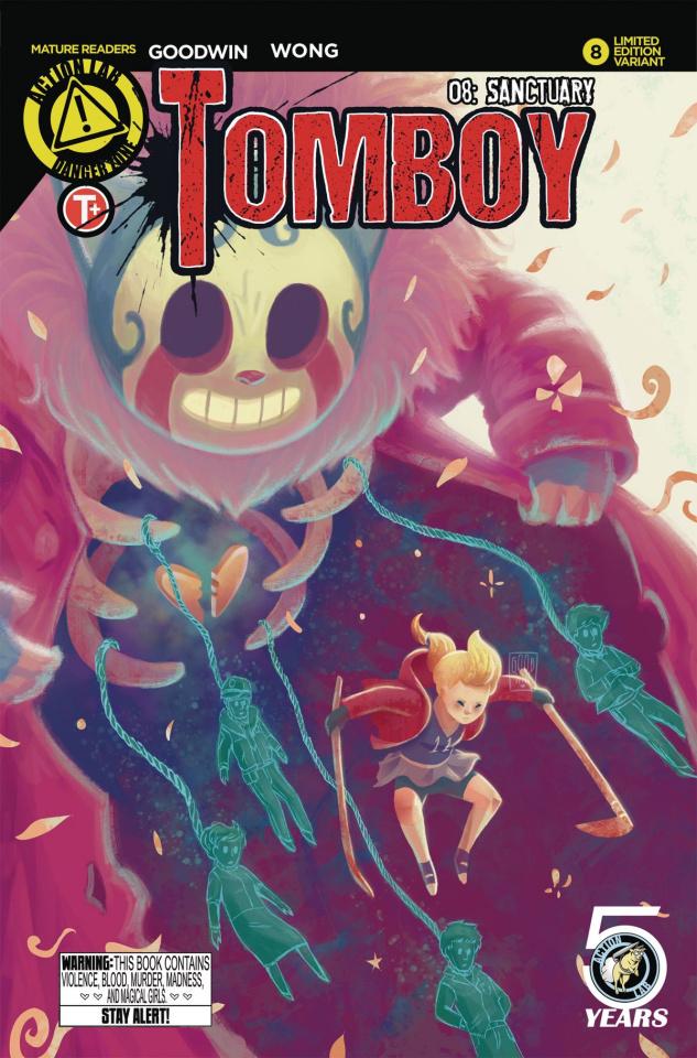 Tomboy #8 (Wibowo Cover)