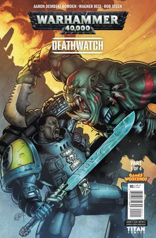 Warhammer 40,000: Deathwatch #1 (Bettin Cover)