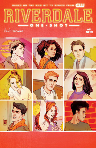 Riverdale #1 (Sandra Lanz Cover)
