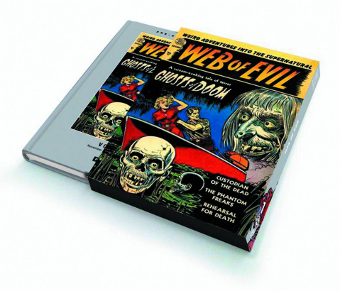 Pre-Code Classics: Web of Evil Vol. 1 (Slipcase Edition)