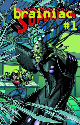 Superman #23.2: Brainiac Standard Cover