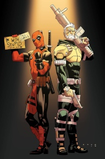 Deadpool and Cable: Split Second #1 (Anka Cover)