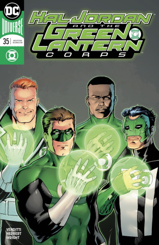 Hal Jordan and The Green Lantern Corps #35 (Variant Cover)