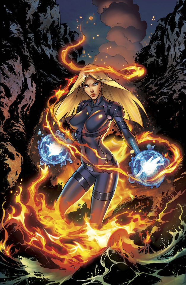 Grimm Fairy Tales: Red Agent - The Human Order #7 (Valentino Cover)