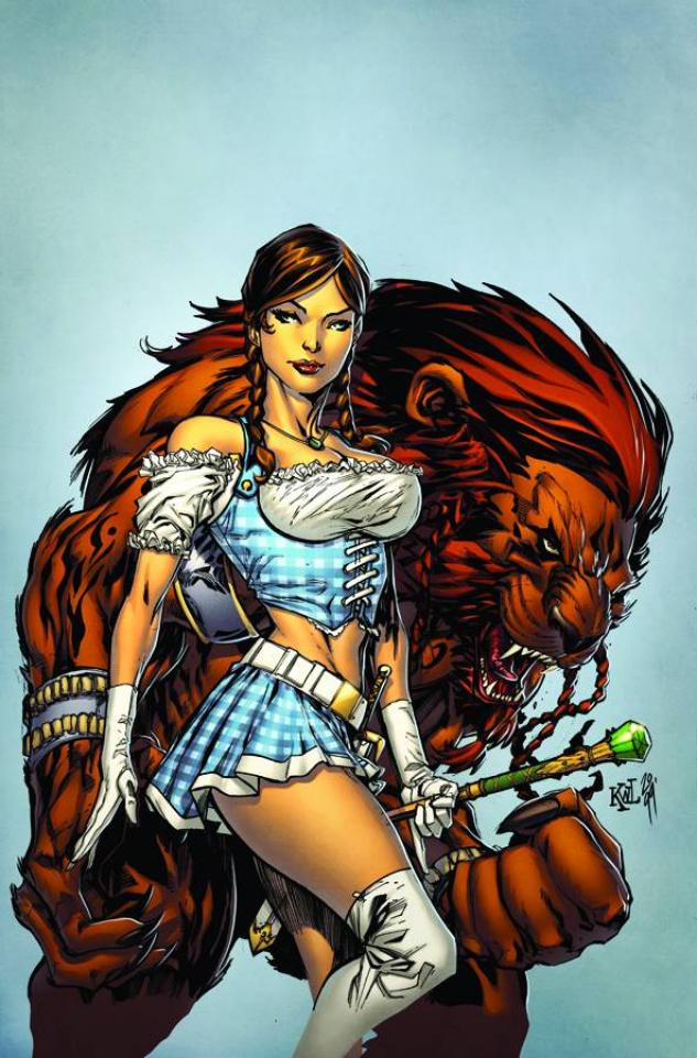 Grimm Fairy Tales: Oz #3 (Lashley Cover)