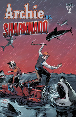 Archie vs. Sharknado (Hack Cover)