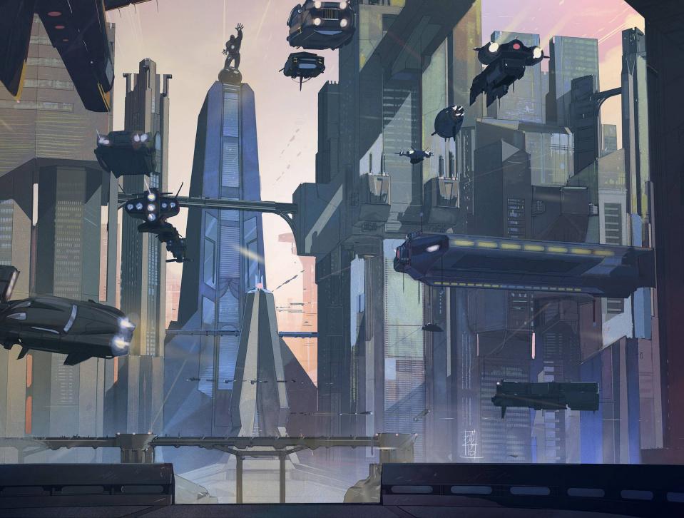 Armor Wars #3 (Landscape Wraparound Cover)