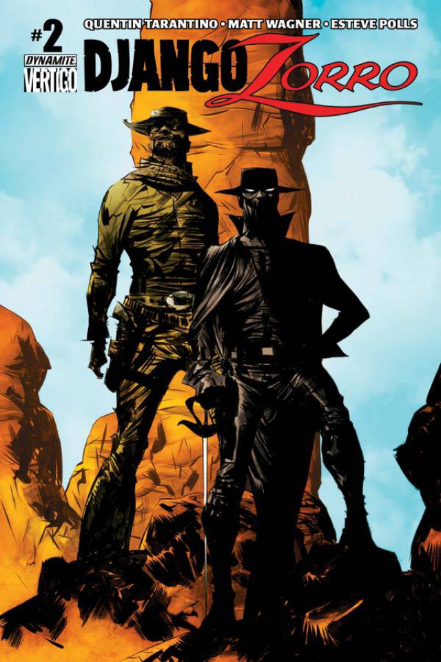 Django / Zorro #2 (Lee Cover)