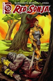 Red Sonja #1 (10 Copy Doyle Unique Cover)