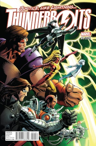 Thunderbolts #1 (Bagley Cover)