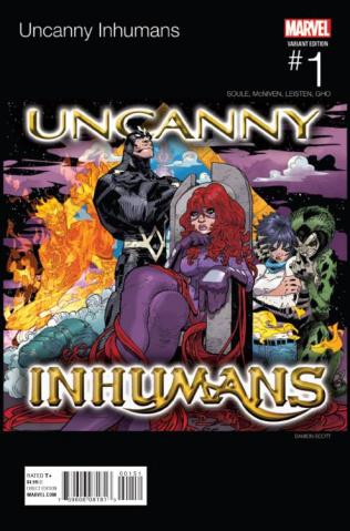 The Uncanny Inhumans #1 (Scott Hip Hop Cover)
