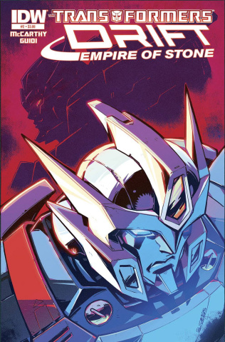 The Transformers: Drift - Empire of Stone #2