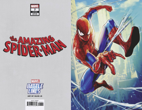 The Amazing Spider-Man #7 (Sujin Jo Marvel Battle Lines Cover)
